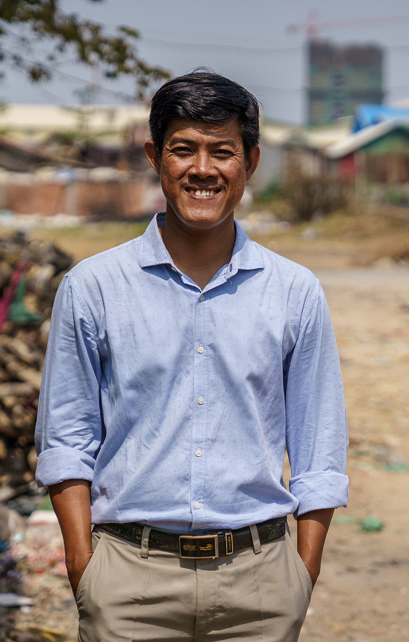 Social worker of Cambodian Children Fund